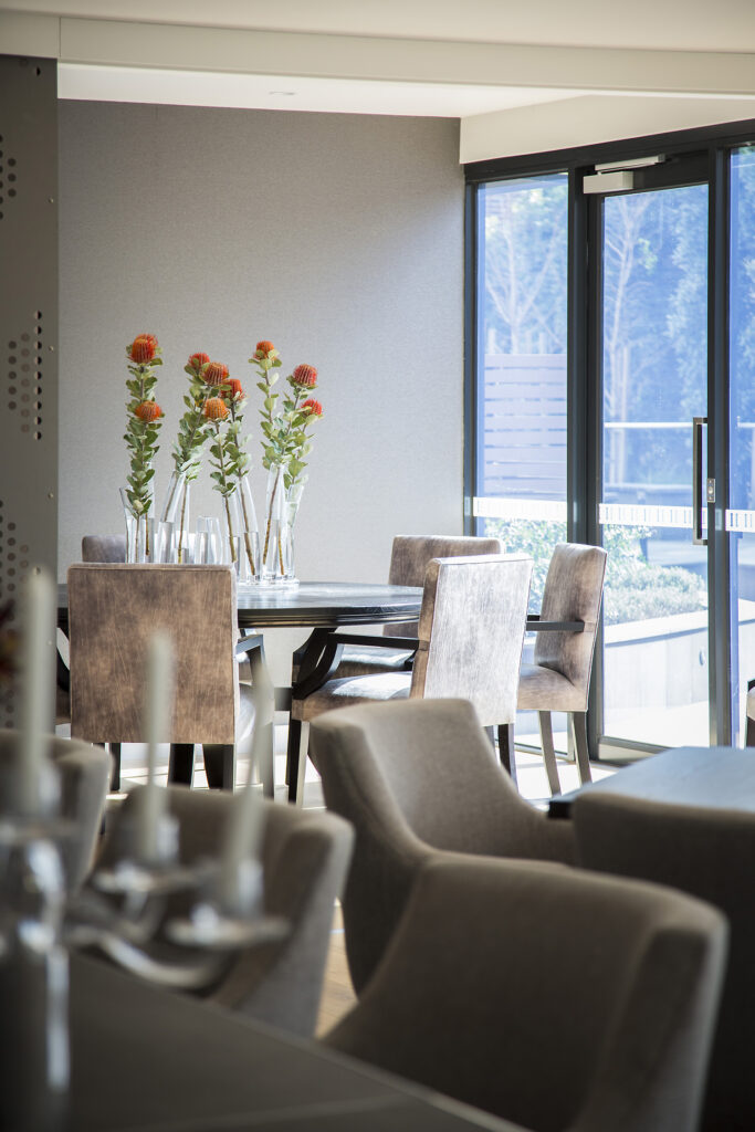 Shared Dining - Independent Living Units at Hester Canterbury - BASScare Aged Care