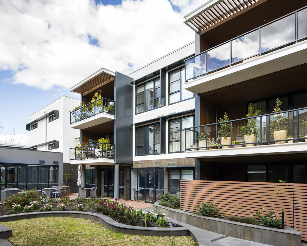 Exterior - Independent Living Units at Hester Canterbury - BASScare Aged Care