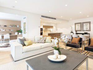 Lounge Room - Independent Living Units at Hester Canterbury - BASScare Aged Care