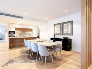 Dining Room - Independent Living Units at Hester Canterbury - BASScare Aged Care