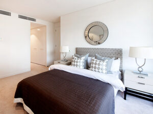Bedroom - Independent Living Units at Hester Canterbury - BASScare Aged Care