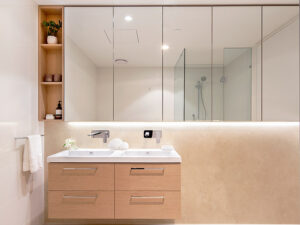Bathroom - Independent Living Units at Hester Canterbury - BASScare Aged Care