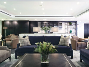 Shared Lounge - Independent Living Units at Hester Canterbury - BASScare Aged Care