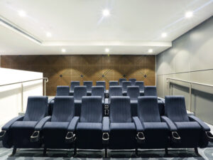 Cinema - Independent Living Units at Hester Canterbury - BASScare Aged Care